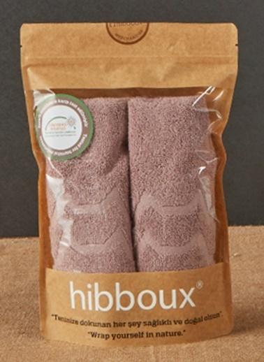 Hibboux 30x50 Vogue El Havlusu 2'li Set - Plum Renkli